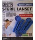Универсальные ланцеты Euro Lancet 100 шт.