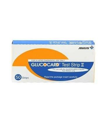 Glucocard II , 50шт. тест-полоски .