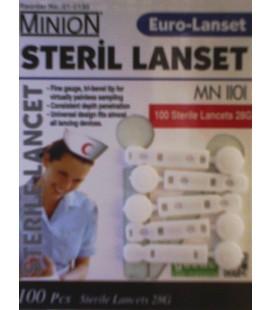 Ланцеты Euro Lancet для Accu-Chek Softclix, 100 шт.