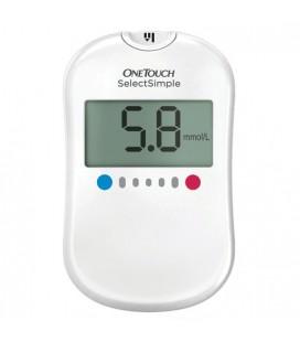Узнать больше о Глюкометр Ван Тач Селект Симпл + 50 тест-полосок.