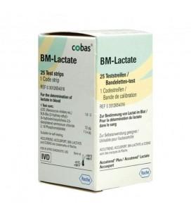 Тест-смужки Accutrend Lactate, 25 шт.