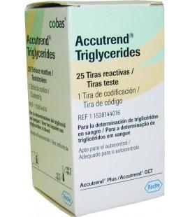 Тест-смужки Accutrend Triglycerides, 25 шт.