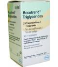 Тест-полоски Accutrend Triglycerides, 25 шт.