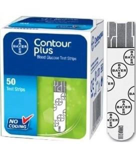 Тест-полоски Contour Plus, 50 шт.