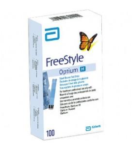 Узнать больше о Тест-полоски FreeStyle Optium H, 100 шт.