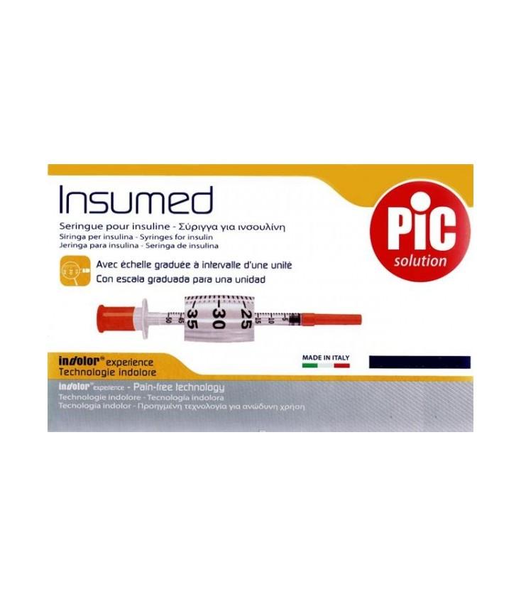 Купить инсулиновые шприцы Insumed (Инсумед) с доставкой по Украине