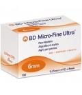 Голки для шприц-ручок BD Micro-Fine Plus 6 мм, 100 шт.