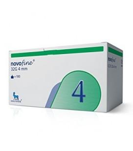 Голки для шприц-ручок Novofine 4 мм, 100 шт.