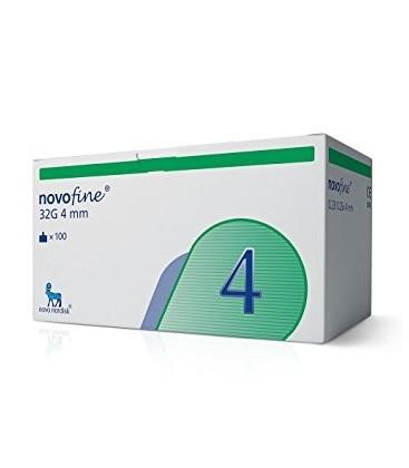 Иглы для шприц-ручек Novofine 4 мм, 100 шт.