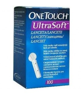 Ланцеты One Touch Ultra Soft® 100шт.