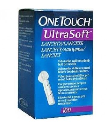 Ланцеты One Touch Ultra Soft® 100шт.