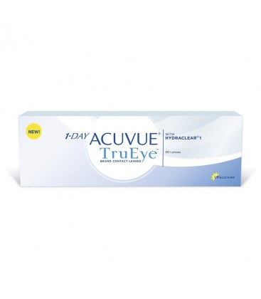 Контактные линзы 1 Day Acuvue TruEye