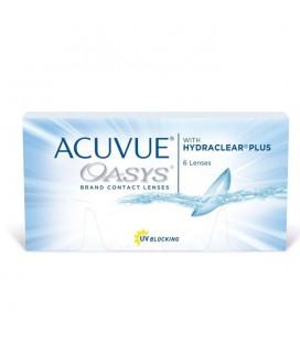 Контактные линзы Acuvue Oasys, 6 шт.