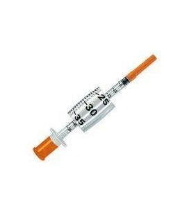 Шприци Insumed. 0,3 мл. Голка 0,3 * 8 мм. - 30 шт. (3 x 10 в упаковці)