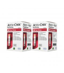 Акційні тест-смужки Accu-Chek Performa, 100 шт.