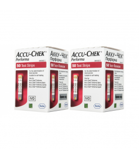 Акционные тест-полоски Accu-Chek Performa, 100 шт.