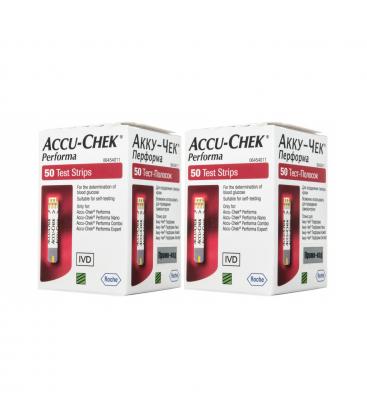 Акційні тест-смужки Accu-Chek Performa, 50 шт.
