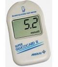 Глюкометр SUPER GLUCOCARD II + 50 тест-полосок + 50 ланцетов